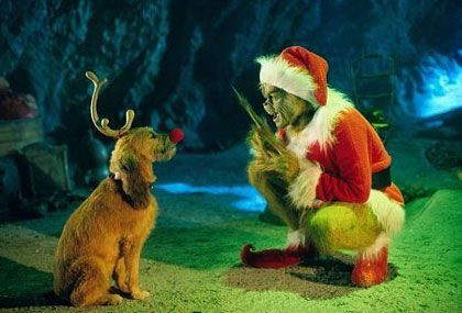 """""""...All right, you're a reindeer. Here's your motivation: Your name is Rudolph, you're a freak with a red nose, and no one likes you. Then, one day, Santa picks you and you save Christmas. No, forget that part. We'll improvise... just keep it kind of loosey-goosey. You HATE Christmas! You're gonna steal it. Saving Christmas is a lousy ending, way too commercial. ACTION!""""   [Max knocks the red nose off]   """"...BRILLIANT! You reject your own nose because it represents the glitter of…"""
