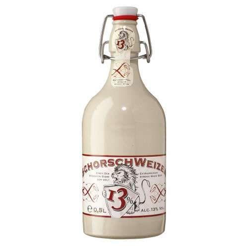 Bia Schorsch Weizen 13% - Chai 500ml - Bia Nhập Khẩu TPHCM
