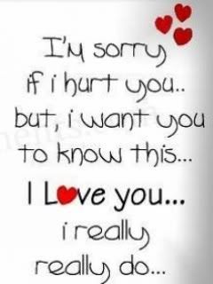 Love Quote And Saying Image Description For U Salam Just Want To Say I M Really Really Sorry And I Really Sorry Quotes Sorry My Love Im Sorry Quotes
