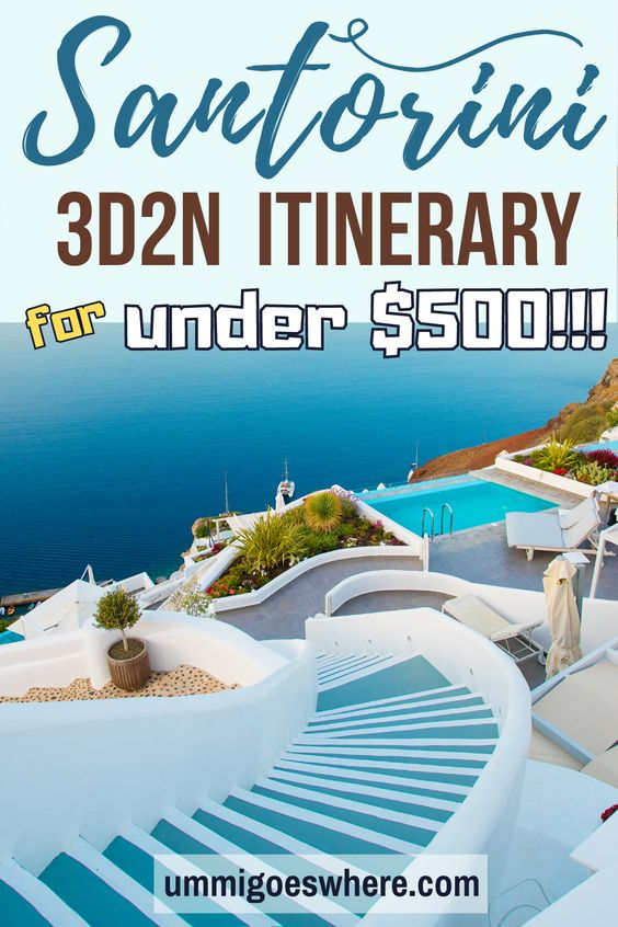 Santorini Budget Itinerary | Ummi Goes Where?