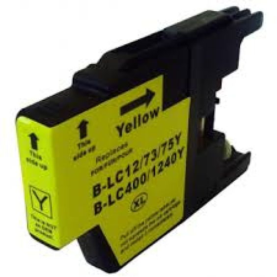 Compatible Brother LC1240Y Ink Cartridge €5.09