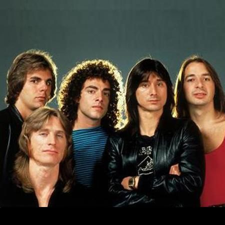 JOURNEY (the best band EVER) (and I just knew I was gonna marry Steve Perry when I grew up.) So glad now I didn't, wouldn't have crossed paths with the real man of my dreams... just sayin'.) <3