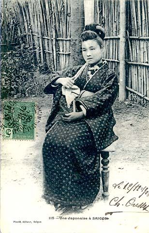 A woman in Saigon (1906)