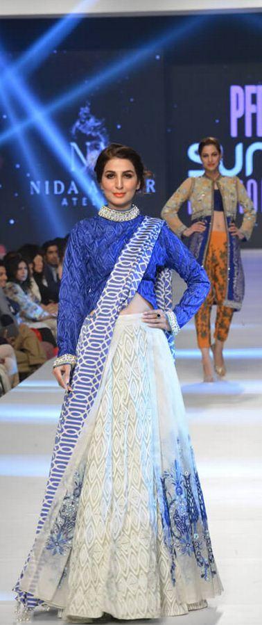 """Nida Azwer """"The Iznik Collection"""" at PFDC Sunsilk Fashion Week 2015"""
