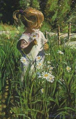 Picking Daisies by Steve Hanks