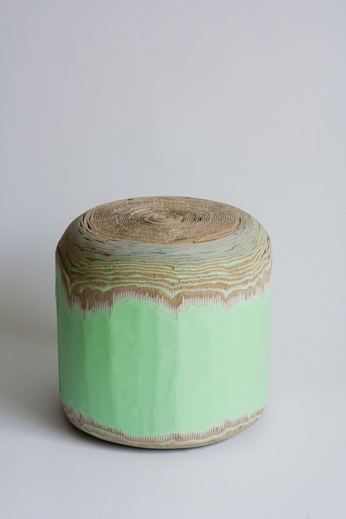Luisa Kahlfeldt - Cardboard stool