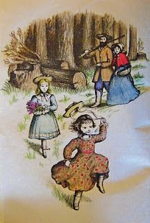 Image result for little house in the big woods illustrations