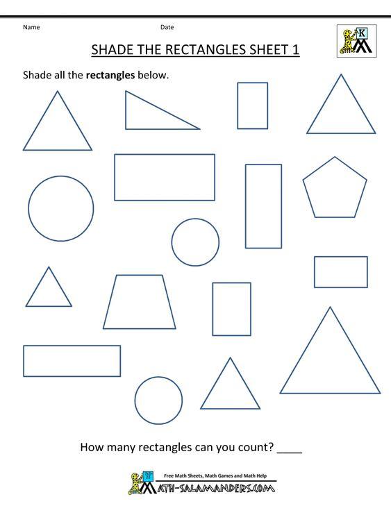Number Names Worksheets geometry 1 worksheets : Math worksheets, Worksheets and Math on Pinterest