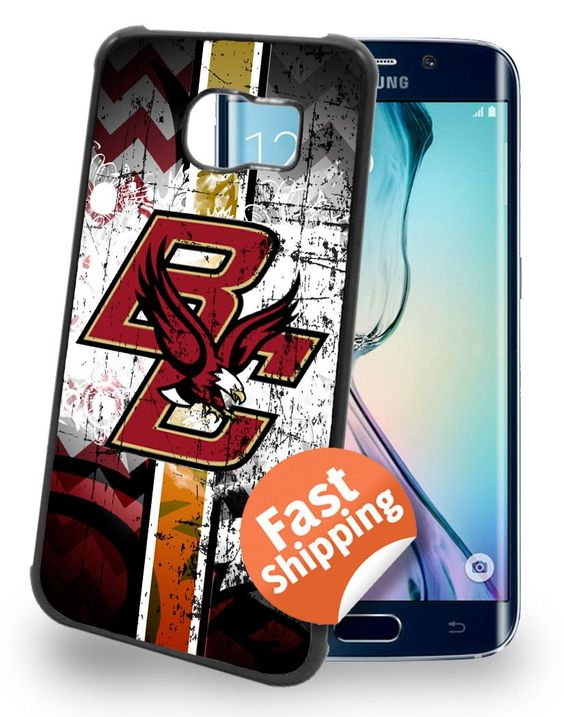 Boston College Eagles Cell Phone Hard Case for Samsung Galaxy S6, Samsung Galaxy S6 Edge