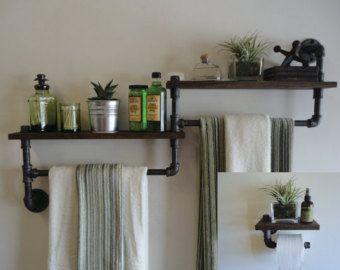 Pipe Shelf the Bartender by Mobeedesigns on Etsy