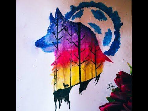 Youtube Moose Art Art Animals