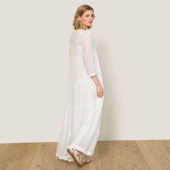 Robe plume longue Stella Forest | La Redoute