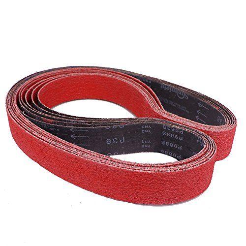 Sanding Belt 1 X 30 Ceramic 12 Pack Long Life Sandpaper Https Www Amazon Com Dp B07gl9876n Ref Cm Sw R Pi Metal Fabrication Knife Making Jewelry Making