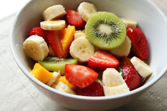 Fruit Salad for Breakfast by theeffspot: Drizzle with honey. #Fruit_Salad #theeffspot