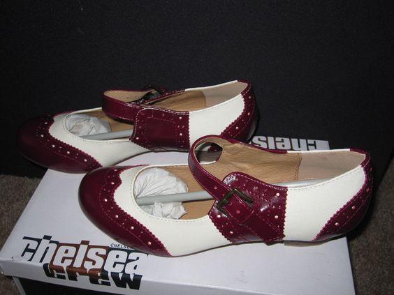 Chelsea Crew NWB Sweety Shoes: Size- 37 \US-6 \ UK-4  #ChelseyCrew #Oxford