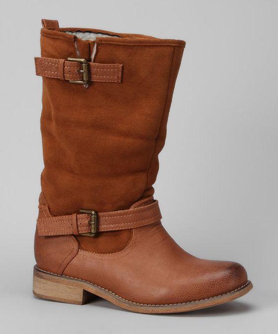 Cognac Makala Boot