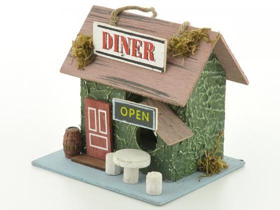 Vogelhaus, Nistkasten, Futterhaus Diner