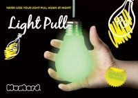 Glow in the Dark Light Pull - £6.99   Never lose your light pull in the dark again!  This one not only looks like a light pull but glows gently so there's no more fumbling for illumination in the small hours, just a small reminder of where that light pull is.  A flash of genius we thought!  Weight: 25g Dimensions: 7 x 7 x 11cm