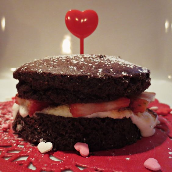 Hey Cupcake! Just some #GlutenFree decadence to complete your Valentine's Day