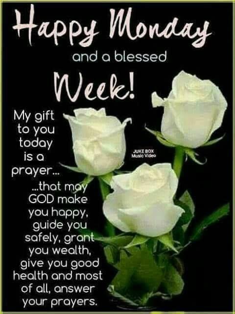 Happy Blessed Monday