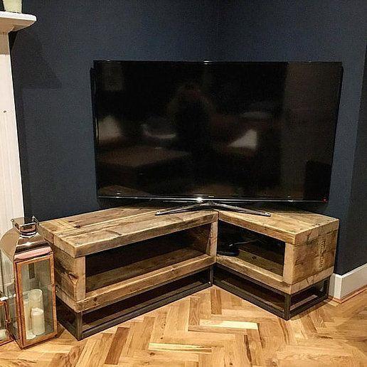 L Shaped Tv Unit Design