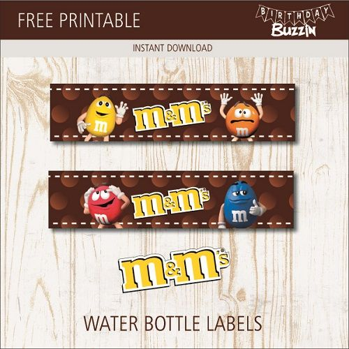 Tent Cards CUSTOM Printable PARTY PACK: Printable Tags Water Bottle Labels Candy Wrappers Birdcage Baby Shower or Choose Your Theme