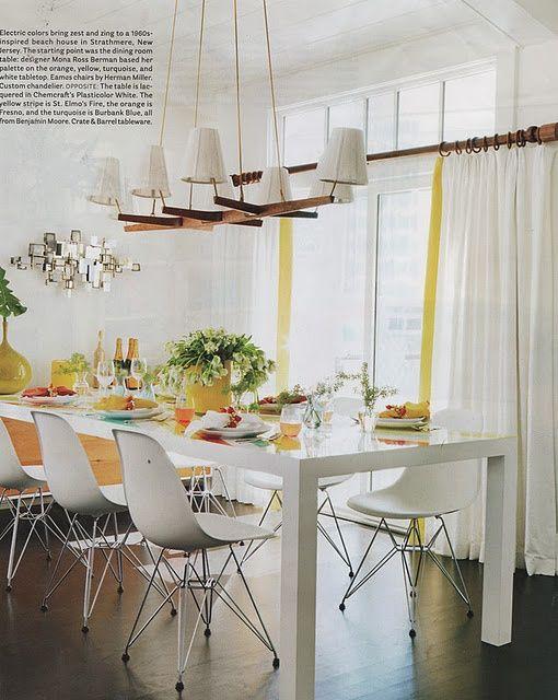 so light and | http://bedroom-gallery.blogspot.com Peindre ma table en blanc ?