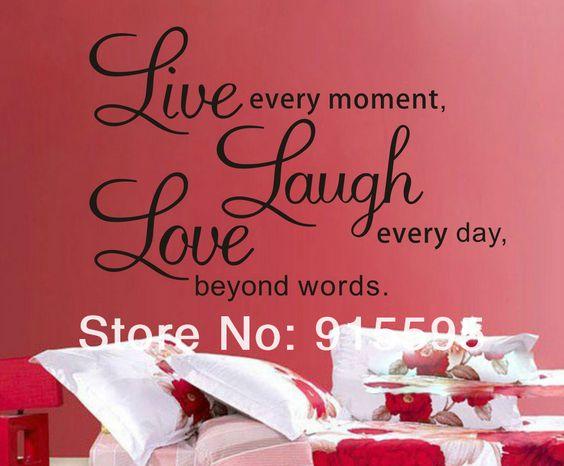 Gratis verzending: verkoop promotie live love laugh letters transprent waterdichte vinyl muur citaten sticker/pvc muurstickers home decor in Model nr..: ml14dCommodity-formaat: 25*70cmAfgewerkt formaat: 50* 70cmMateriaal: niet- giftige, milieuvriendelijk pvcVer van muurstickers op AliExpress.com   Alibaba Groep