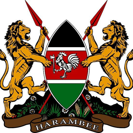 Coat Of Arms Kenya Coat Of Arms Kenya Kenya Flag