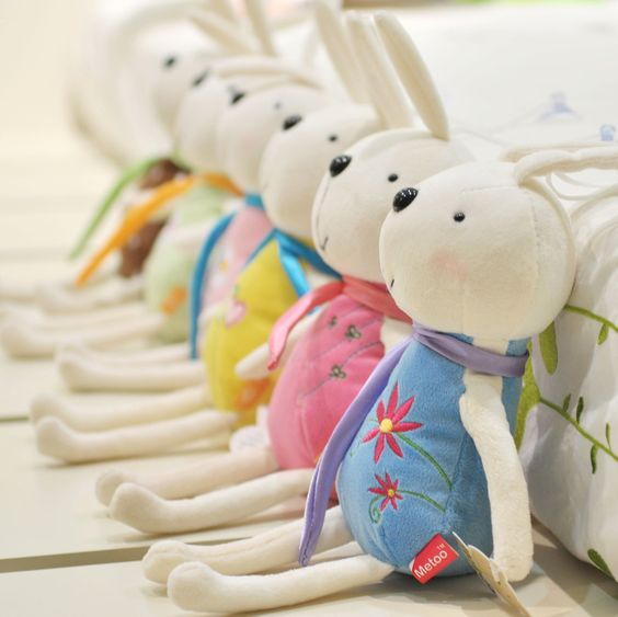 Rabbit car hangings plush toy doll rabbit belt sucker wedding gift-in Stuffed & Plush Animals from Toys & Hobbies on Aliexpress.com
