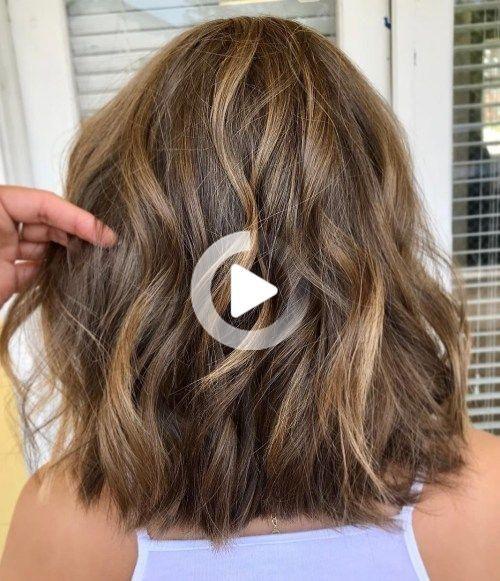 80 Coupes De Cheveux Sensationnelles De Longueur Moyenne Pour Les Cheveux Epais Cheveux Epais Cheveux De Longueur Moyenne Coupe De Cheveux