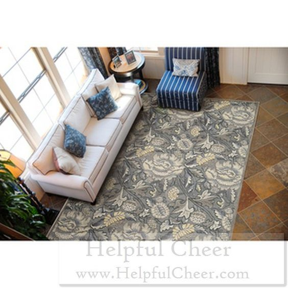 Nourison Graphic Illusions Floral Grey Rug 5 x27 3 x 7 x27 5 - at - 0153