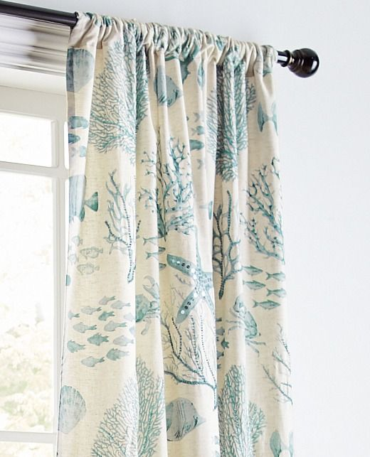Coastal Decor Sales Coastal Cottage Coastal Bedrooms Coastal Curtains