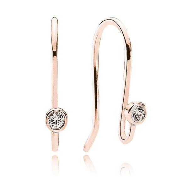 Pandora Compose Earrings: Pandora, Pandora Rose Gold And Rose Gold On Pinterest