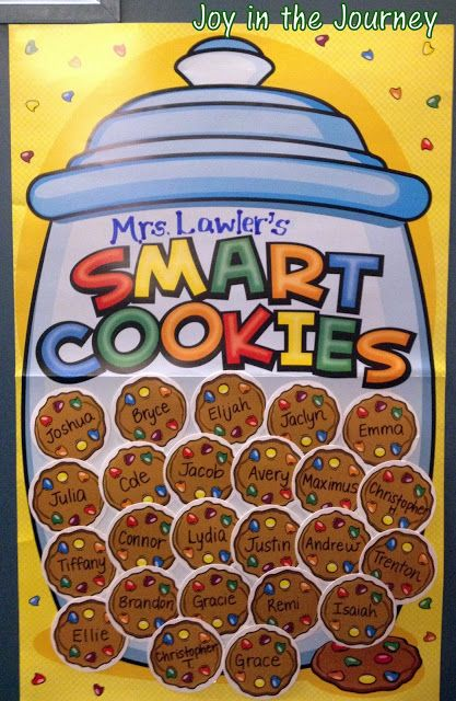 A classroom door that celebrates it 39 s smart cookies is an for 9th class decoration