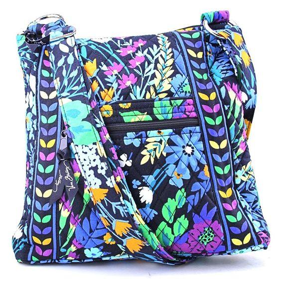 Vera Bradley Hipster Crossbody (Midnight Blues): Handbags: Amazon.com: