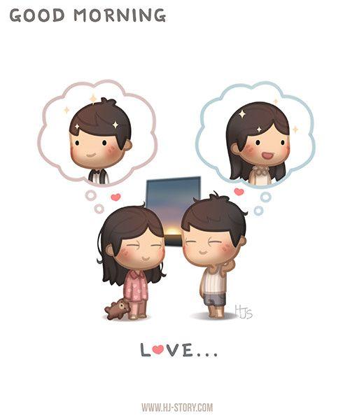 Love is... Good morning beautiful :)