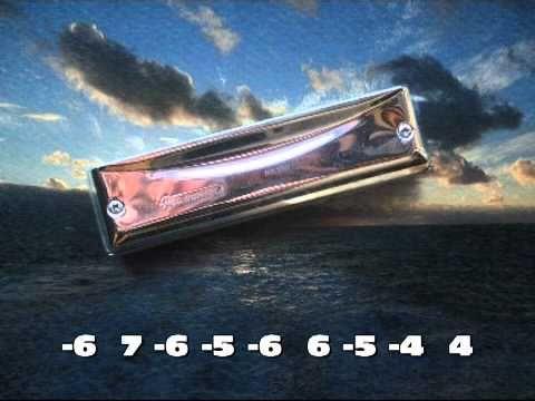 Amazing Grace Harmonica Tabs in 12th Pos | Harmonika, Harmonika ...