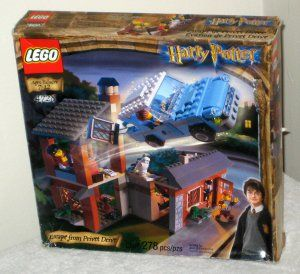 LEGO Harry Potter Sets 4728 Escape From Privet Drive Minifigs 4727 Aragog in the Dark Forest 2002 $85