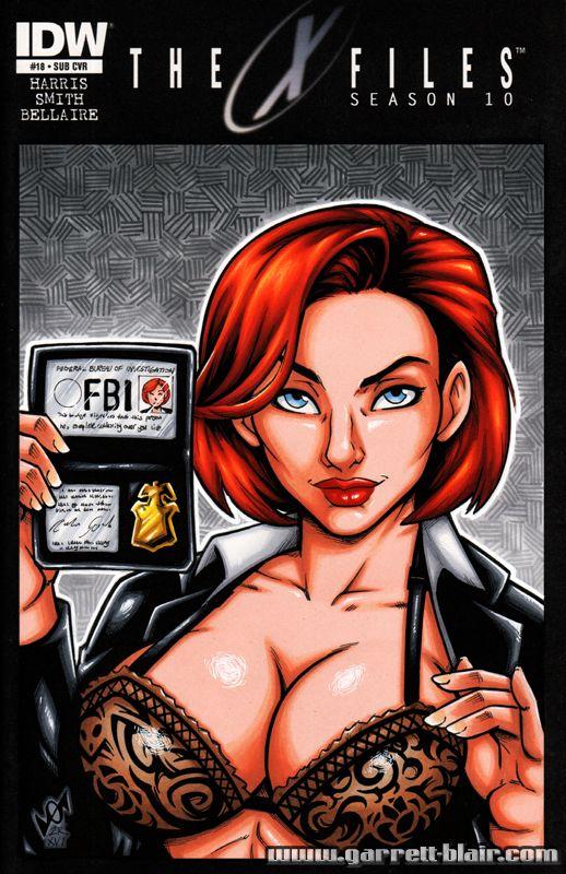 Dana scully sex adult comics