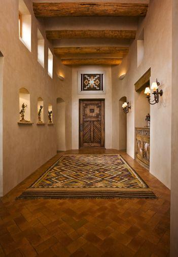 Santa Fe Style Living Room: Southwest Style, Santa Fe Home And Adobe On Pinterest