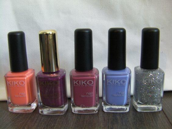 My KIKO collection
