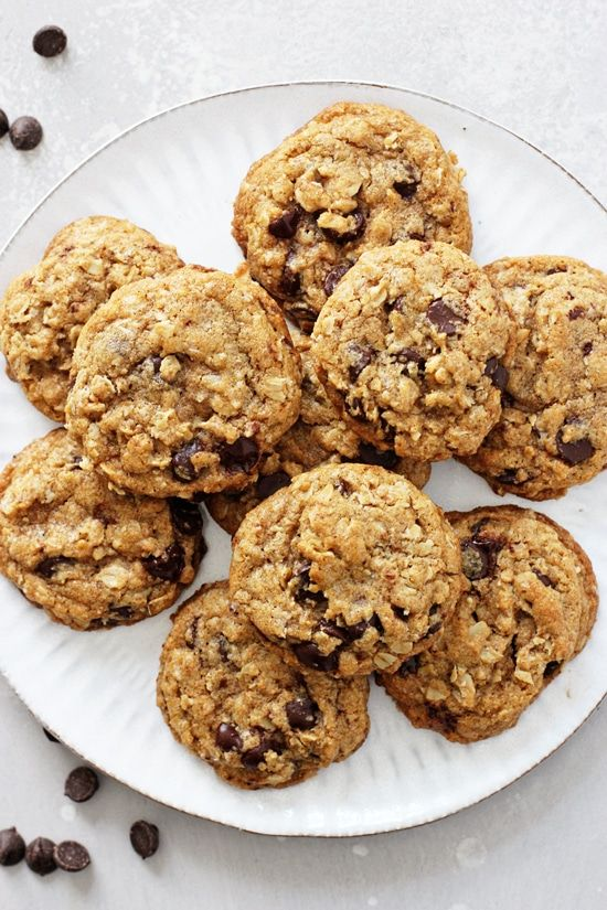 Coconut Oil Oatmeal Cookies Cook Nourish Bliss Recipe In 2020 Cookie Recipe With Oil Oatmeal Chocolate Chip Cookie Recipe Cookies Recipes Chocolate Chip