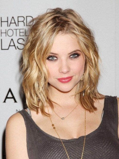 Peachy Cute Medium Length Hairstyles Medium Lengths And Ashley Benson On Short Hairstyles Gunalazisus