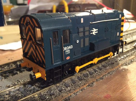 08 243 in BR blue by Bachmann Acquired from Vienna 19/12/16