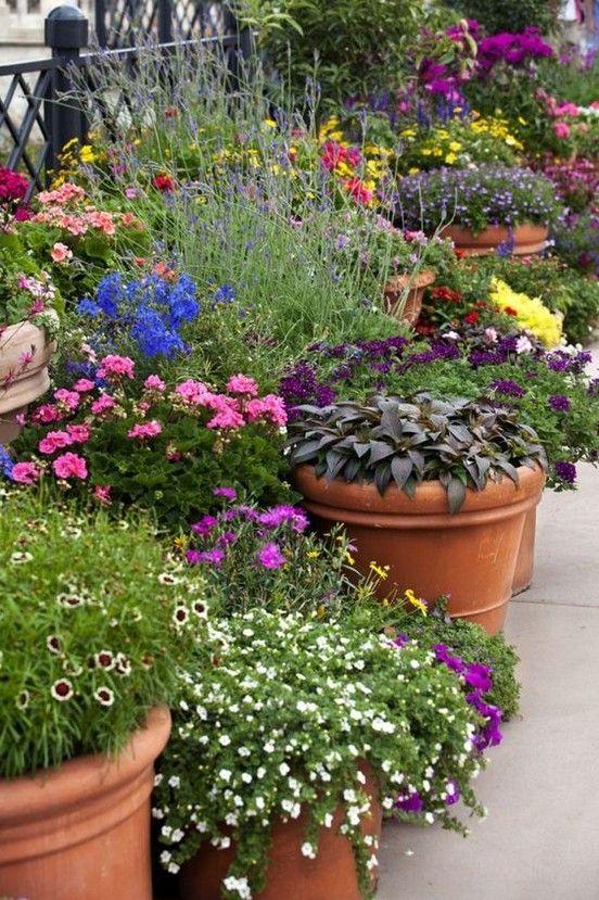 80 Grossartige Tricks Und Ideen Fur Die Gestaltung Von Containergarten Container Gardening Flowers Container Gardening Herb Garden Boxes
