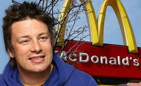 """Sorry McDonald's lovers yucky news!! I knew there was a reason why I like Jamie Oliver!! Hamburger chef Jamie Oliver has just won a battle against one of the largest fast food chains in the world. After Oliver showed how McDonald's hamburgers are made, the franchise announced it will change its recipe. According to Oliver, the fatty parts of beef are """"washed"""" in ammonium hydroxide and used in the filling of the burger. Before this process, according to the presenter, the food is deemed unfit…"""