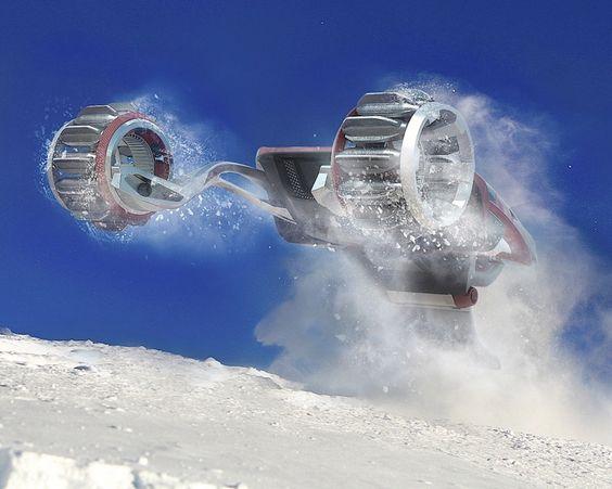 RDSV Schneemobil - Fahrzeug für extreme Wetterbedingungen