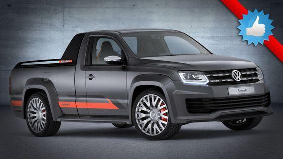2015 #Volkswagen Amarok Power #Concept : 268 Horsepower