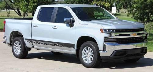 2019 Silverado Decals Silverado Rocker 2 2019 2020 3m Or Avery Supreme Or 3m 1080 Chevy Trucks Gmc Trucks Lifted Trucks